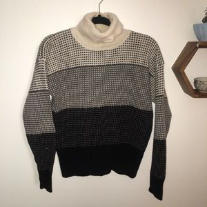 Wool turtleneck
